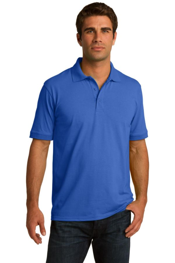 KP55P Port & Company® 5.5-Ounce Jersey Knit Pocket Polo