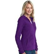 L225 Port Authority Ladies Micofleece Hoodie