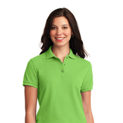 L500X Port Authority® Ladies Silk Touch™ Polo 3XL-6XL