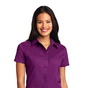 L508X Port Authority® Ladies Short Sleeve Easy Care Shirt 3x-6x