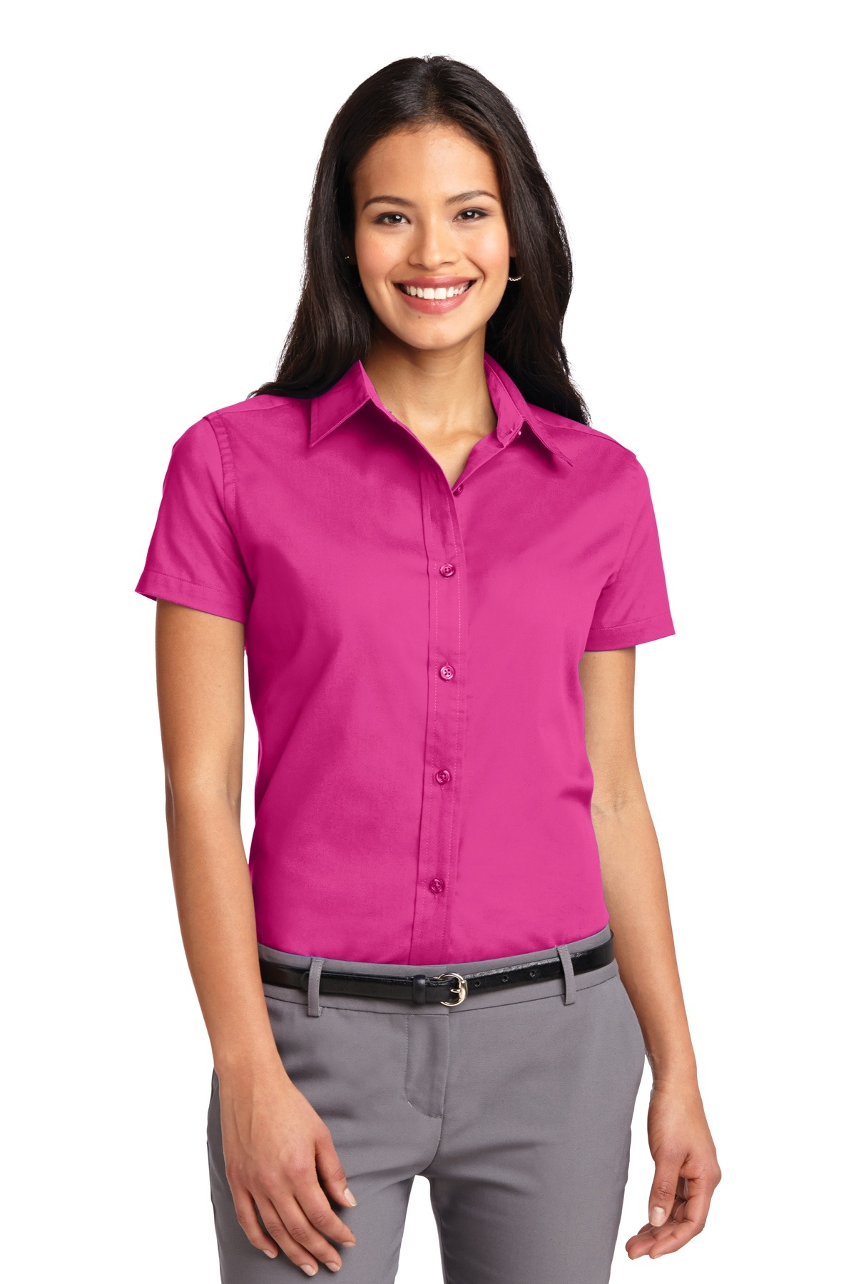 L508 ladies Easy Care short-sleeve Shirt Port Authority