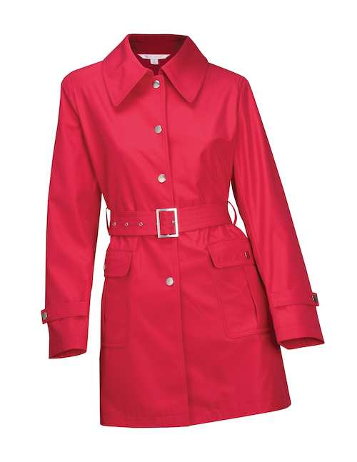 LB9013 Sasha Tri-Mountain Ladies Trench Coat