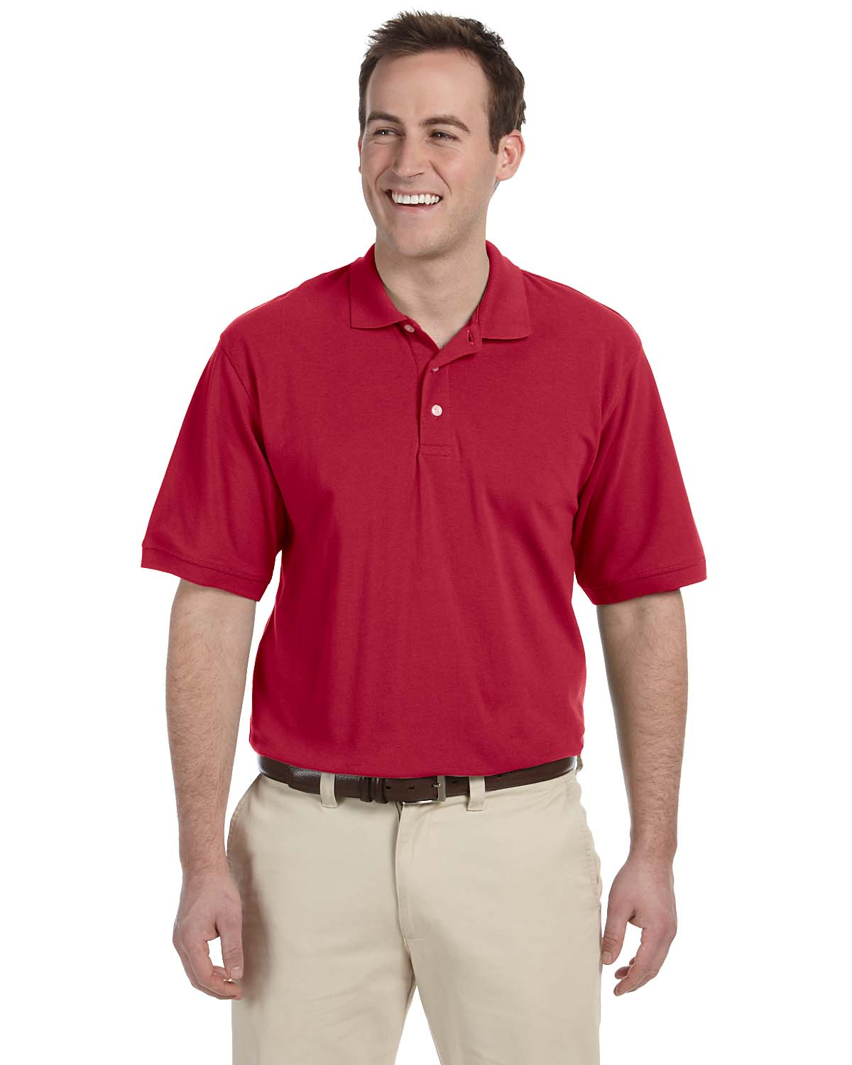 M265T Harriton Men's Tall Easy Blend Polo
