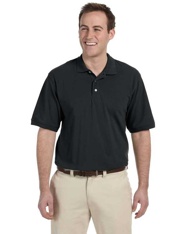 M265Y Harriton Youth 65/35 Easy Blend Pique Polo
