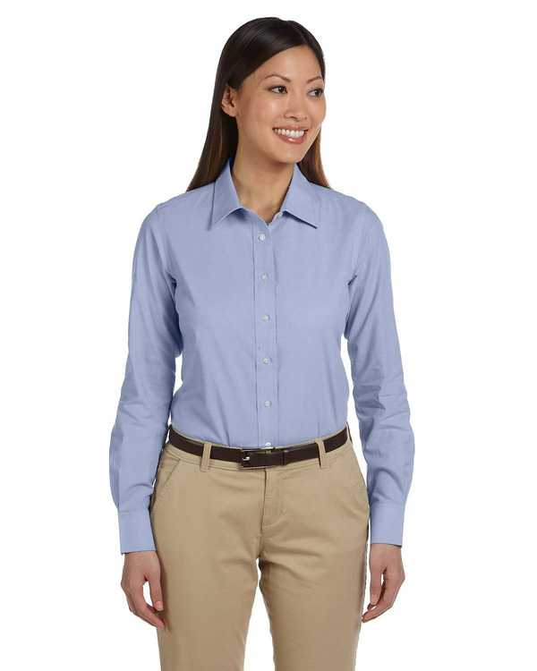 M555W Harriton Ladies' 3.48 oz. Chambray