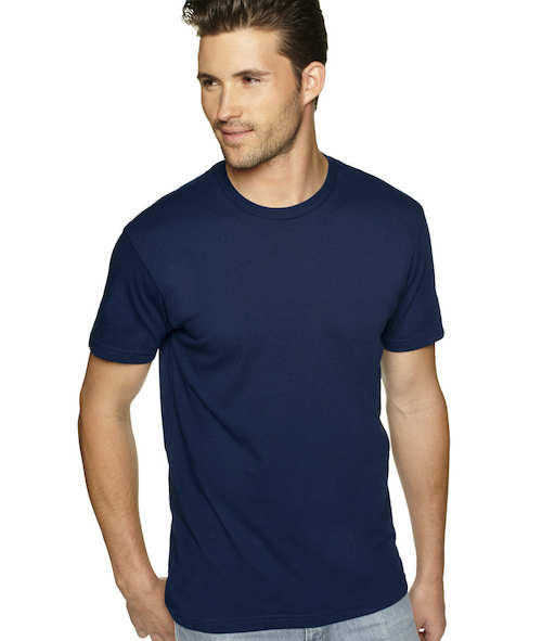 N3600 Next Level Men's Premium Fitted Short-Sleeve Cotton Crew