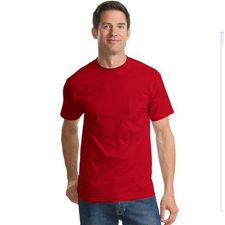 PC61PT Port & Company TALL Essential T-Shirt with Pocket - TALL SIZES