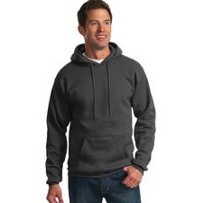 PC90HT Port & Company TALL Ultimate Pullover Hooded Sweatshirt - TALL SIZES