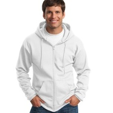 PC90ZHT Port & Company TALL Ultimate Full-Zip Hooded Sweatshirt - TALL SIZES