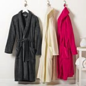 R102 Port Authority Plush Microfleece Shawl Collar Robe