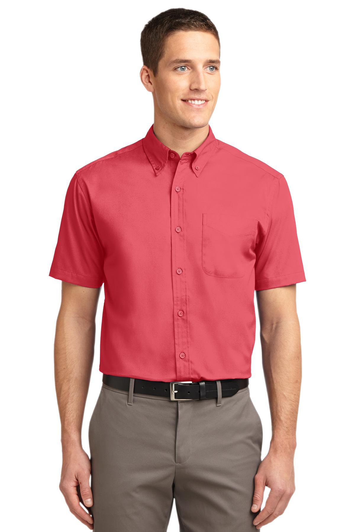 S508x Port Authority® Short Sleeve Easy Care Shirt 3x-6x
