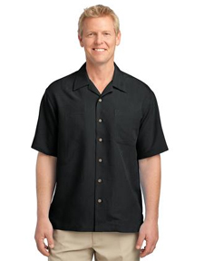 S536 Port Authority® - Patterned Easy Care Camp Shirt