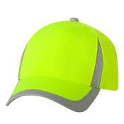 SAF100 Outdoor Cap - Safety V Crown Cap