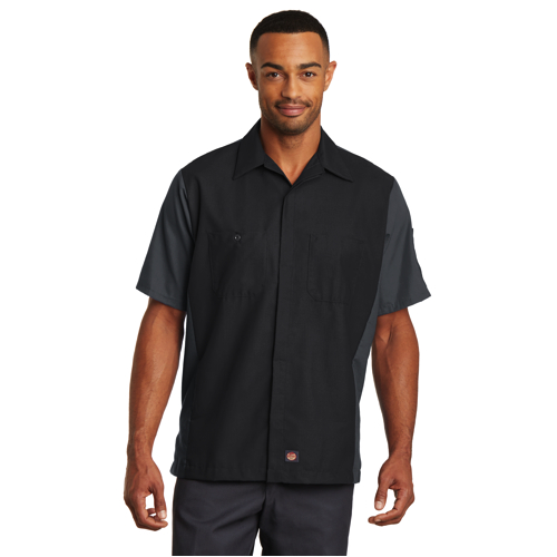 SY20 Red Kap® Short Sleeve Ripstop Crew Shirt