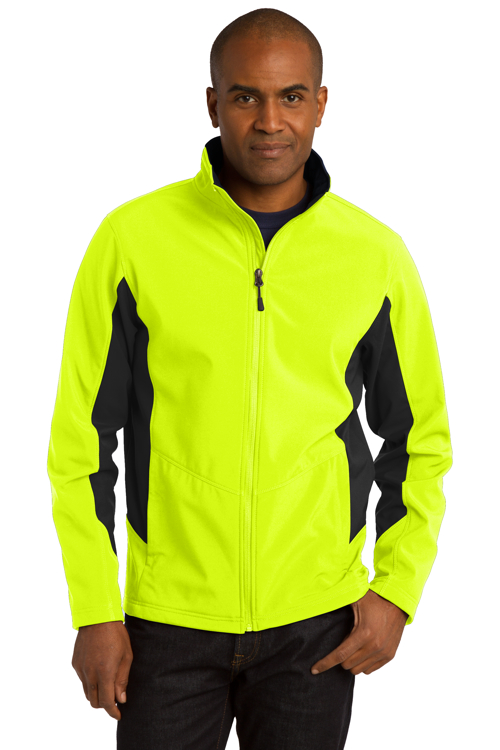 tlj318 Port Authority® Tall Core Colorblock Soft Shell Jacket