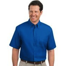 TLS508 Port Authority TALL Short Sleeve Easy Care Shirt - TALL SIZES