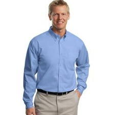 TLS608 Port Authority TALL Long Sleeve Easy Care Shirt - TALL SIZES