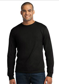 USA100LS Port & Company® - Long Sleeve All-American Tee