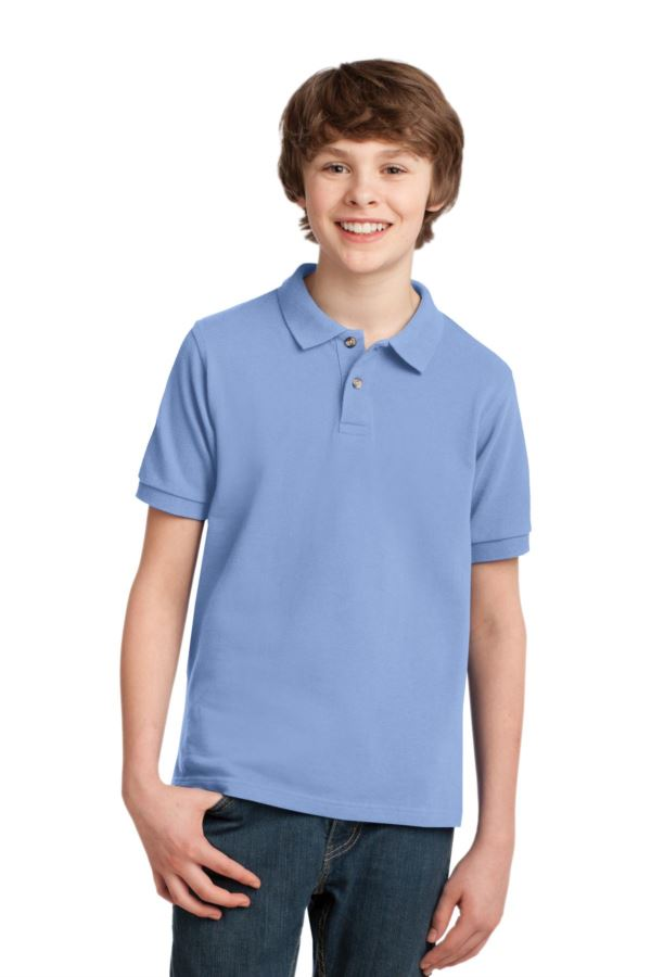 Y420 Port Authority® - Youth Pique Knit Sport Shirt