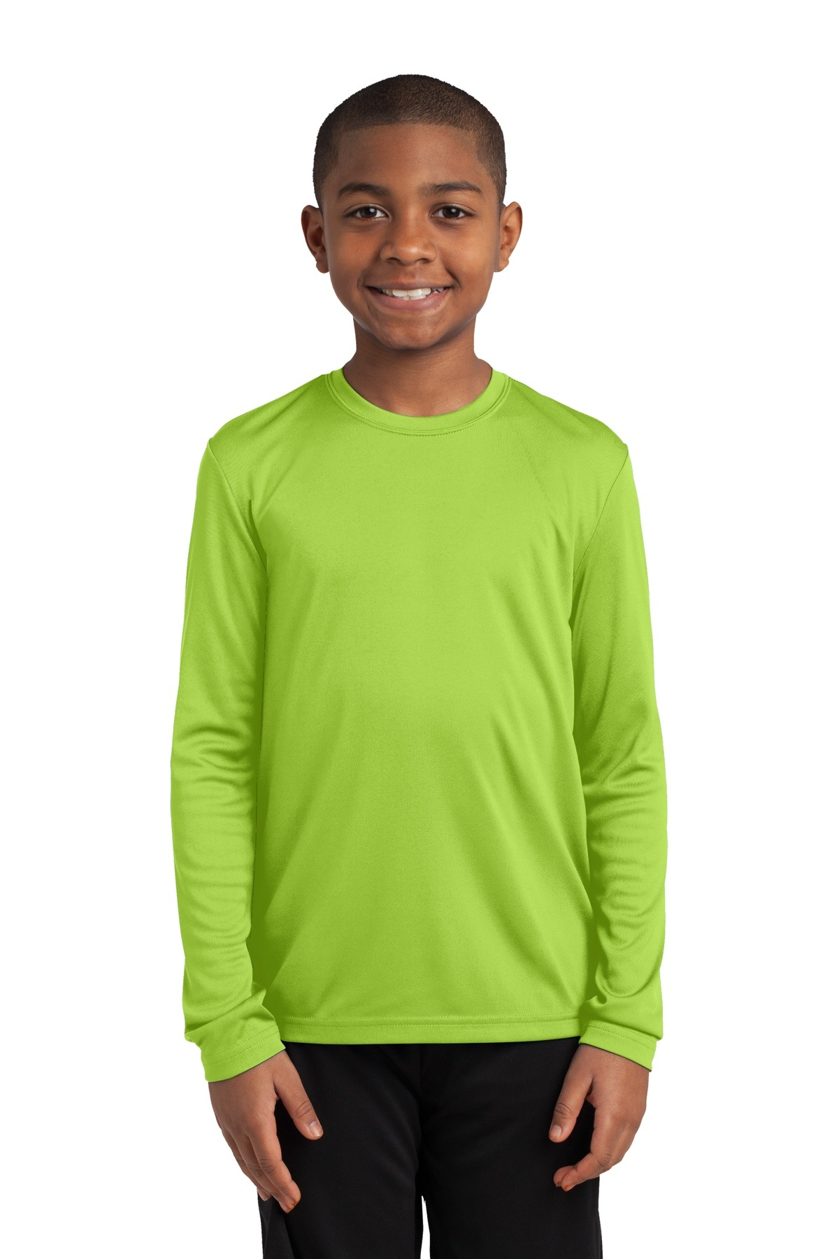 YST350LS Sport-Tek Youth Long Sleeve PosiCharge Competitor Tee
