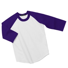 YT200 Sportek Youth ColorBlock Raglan Jersey