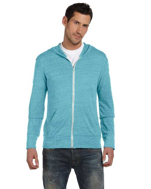 AA1970 Alternative Unisex 4.4 oz. Eco Long-Sleeve Zip Hoodie