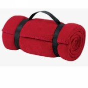 BP10 Port & Co fleece value blanket with strap