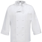 C10F Classic Chef Coat with French Knot Buttons