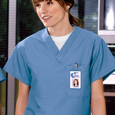 cs501 Cornerstone V neck Scrub Top