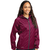 eb501 Eddie Bauer Ladies Packable Wind Jacket