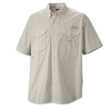 fm7130 Columbia Bonehead SS Fishing Shirt - RE
