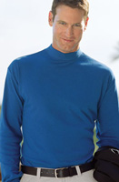 k321 Port Authority Long Sleeve Mockturtle Neck