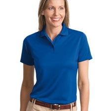 L497 Port Authority® - Ladies Bamboo Blend Pique Sport Shirt