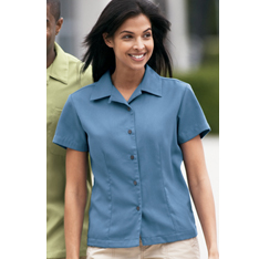 L535 Porth Authority Easy Care Camp Shirt