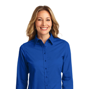 l608x Port Authority® Ladies Long Sleeve Easy Care Shirt 3x-6x