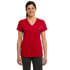 LST700 Sport-Tek Ladies Ultimate Performance V-Neck