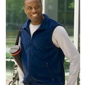 m985 Harriton 8oz. Fleece Vest