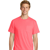 PC099P Port & Company® Essential Pigment-Dyed Pocket Tee