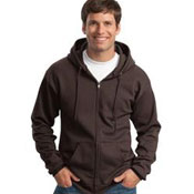 PC78ZH Port & Company - Classic Full-Zip Hooded Sweatshirt
