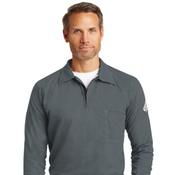 qt12 Bulwark® iQ Long Sleeve Polo