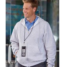 S800 Champion 9 oz., 50/50 EcoSmart® Full-Zip Hood