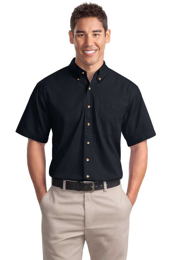 S500T Port Authority Short Sleeve Twill