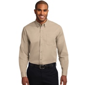 s608 Ms L/S Port Authority Easy Care Shirt