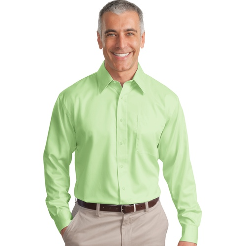 S638 Port Authority® - Long Sleeve Non-Iron Twill Shirt.
