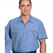 SP24 CornerStone Industrial Short Sleeve Work Shirt