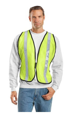 SV02 Port Authority® - Mesh Safety Vest