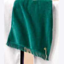 T60G/t60gh Anvil Fringed Fingertip Towel with Grommet
