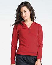 W3002 Alo Long-Sleeve Half-Zip Pullover