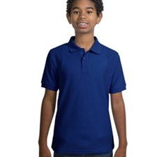 Y500 Port Authority® - Youth Silk Touch™ Sport Shirt