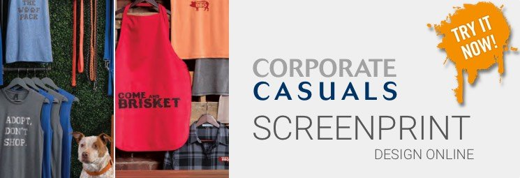 Screen Printing by Corporate Casuals
